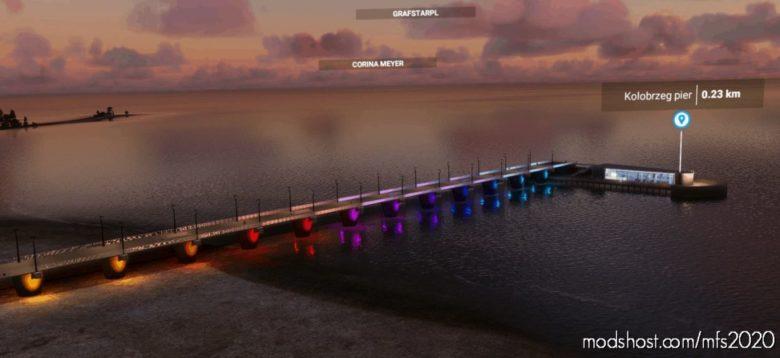 Poland Kolobrzeg Pier for Microsoft Flight Simulator 2020