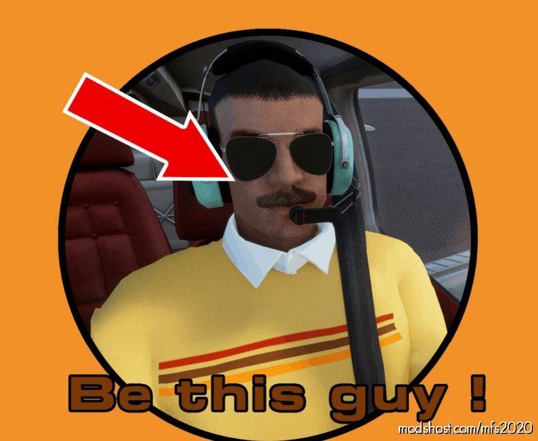 Moustache FIX For Justflight Arrow III V1.1 for Microsoft Flight Simulator 2020