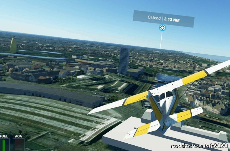 DE Mast Oostende for Microsoft Flight Simulator 2020
