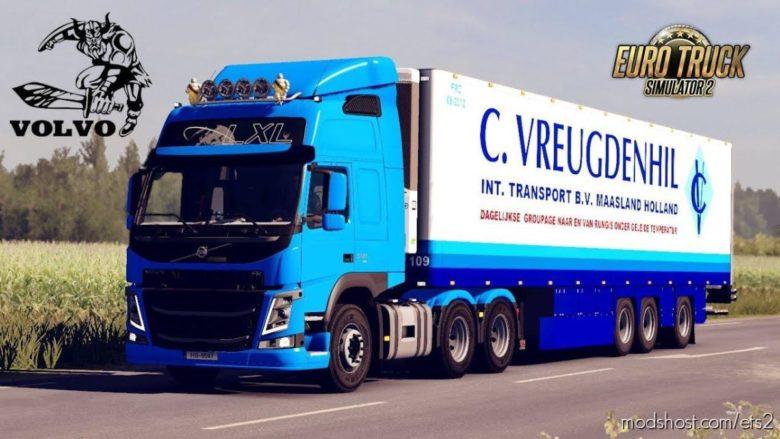 Volvo FM Megamod [1.40] for Euro Truck Simulator 2