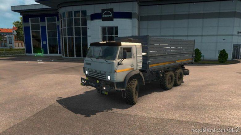 Kamaz 4310 V2.0 [1.39.X – 1.40.X] for Euro Truck Simulator 2