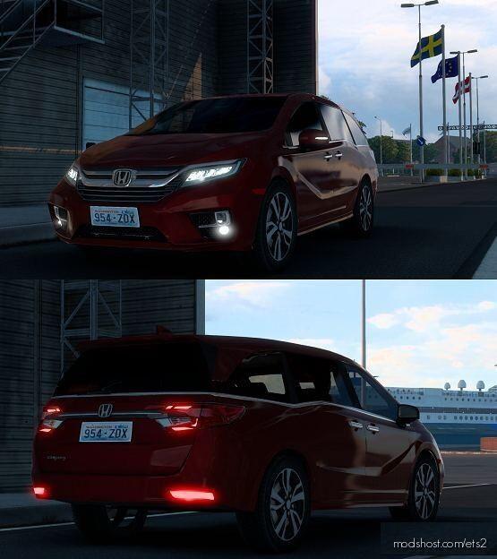 Honda Odyssey V2.0 [1.40] for Euro Truck Simulator 2