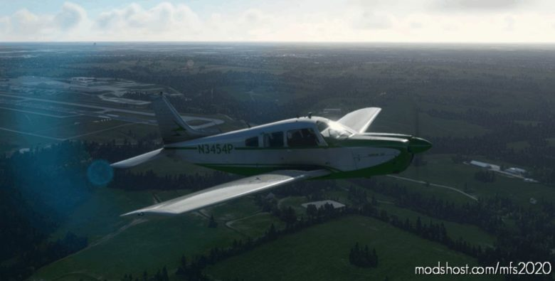 JF Piper Arrow III N3454P for Microsoft Flight Simulator 2020