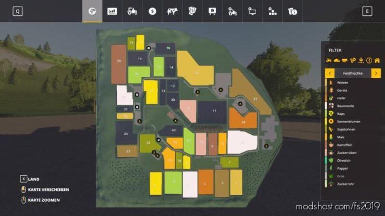 Autodrive Courses For Hirschfelden for Farming Simulator 19