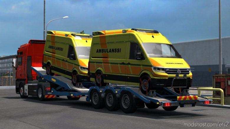 Ambulance Cargo for Euro Truck Simulator 2