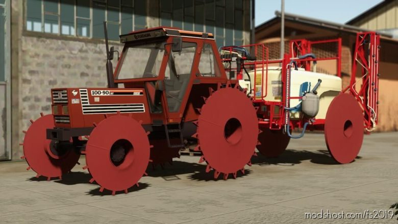 Iron Wheels (Prefab) V1.0.0.1 for Farming Simulator 19