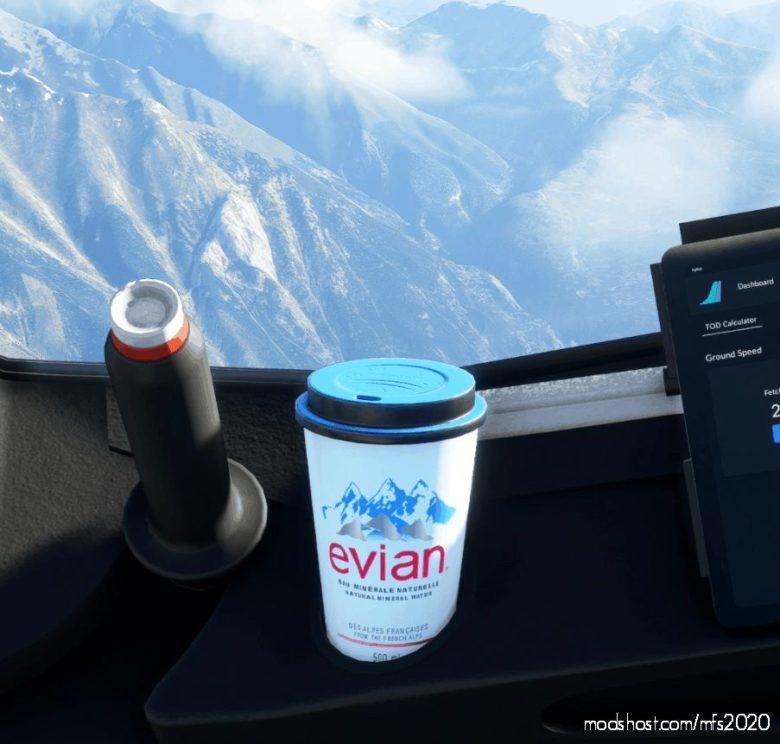 Evian Water V1.1 for Microsoft Flight Simulator 2020