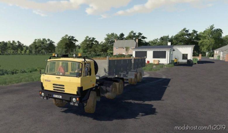 Tatra 815 NTH – Edit for Farming Simulator 19