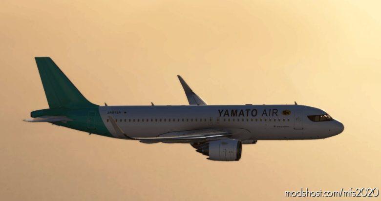 A320Neo Yamato AIR [8K] for Microsoft Flight Simulator 2020
