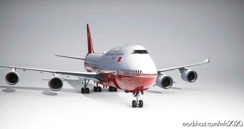 Boeing 747-8 BBJ Turkish Government (4K) – NO Mirroring for Microsoft Flight Simulator 2020