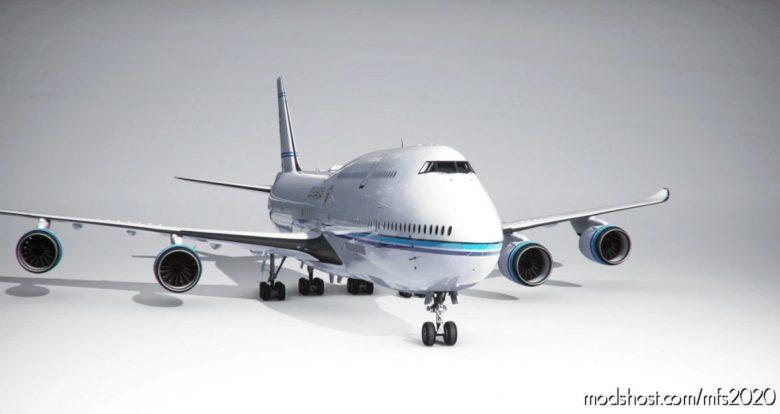 Boeing 747-8 BBJ State Of Kuwait (4K) – NO Mirroring for Microsoft Flight Simulator 2020
