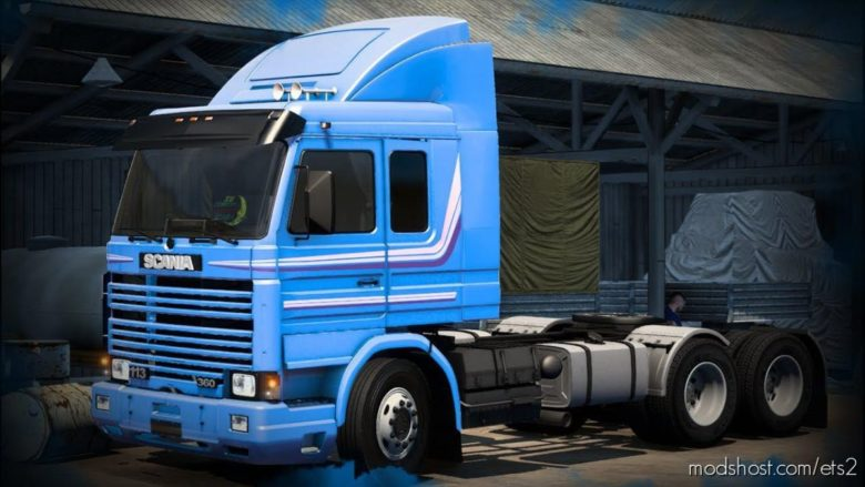 Scania 113 E 112 Frontal [1.40] for Euro Truck Simulator 2