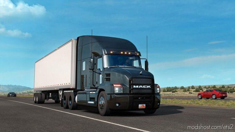 Mack Anthem V2.3 [1.39] for Euro Truck Simulator 2