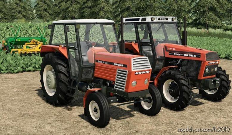 Ursus DE Lux/Finn Pack for Farming Simulator 19