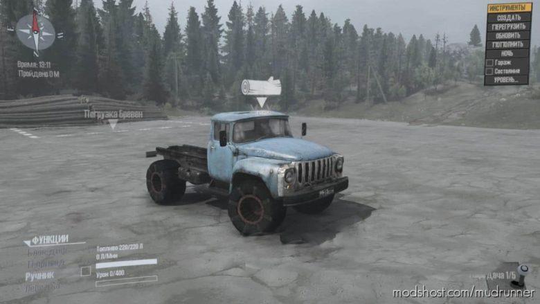 Wheels From The All-Terrain Vehicle Bear for MudRunner