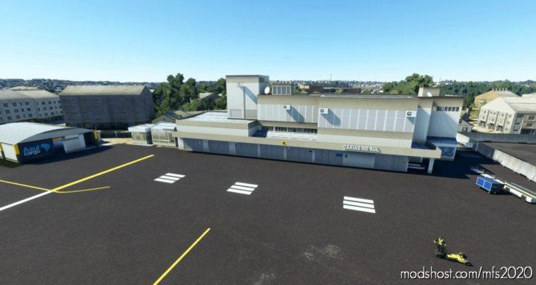Sbcx – Caxias DO SUL – Brazil V0.9.5 for Microsoft Flight Simulator 2020