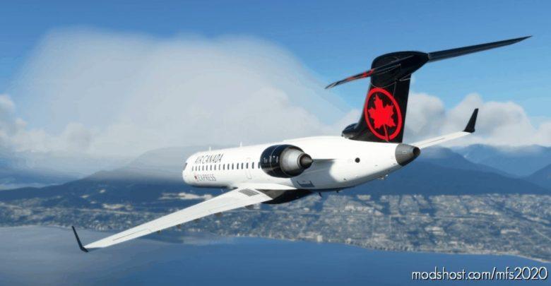 Aerosoft CRJ 550 AIR Canada (With Custom Interior) V1.1 for Microsoft Flight Simulator 2020