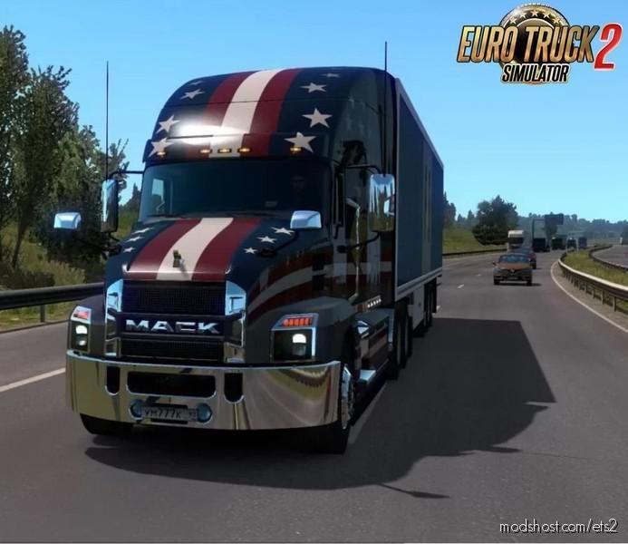 Mack Anthem + Interior V2.3 By Gabenz88 [1.39 – 1.40] for Euro Truck Simulator 2
