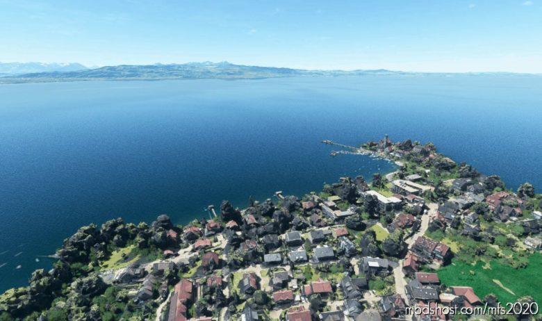 Wasserburg (Bodensee), Germany for Microsoft Flight Simulator 2020