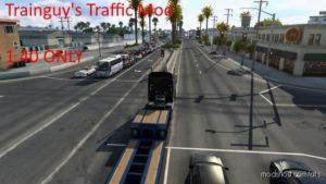 Trainguy's Traffic Mod [Beta] for American Truck Simulator