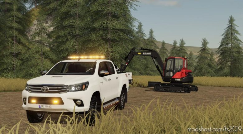 Toyota Hilux Edit V2.0 for Farming Simulator 19