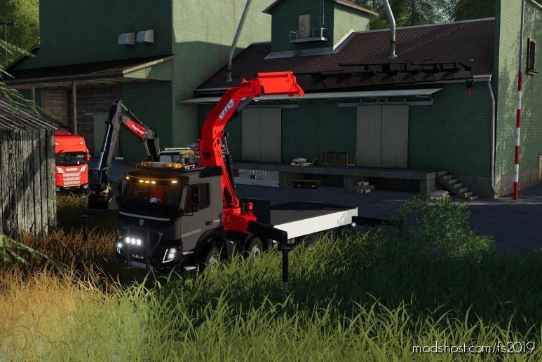 Volvo FMX 2013 Crane V2.0 for Farming Simulator 19