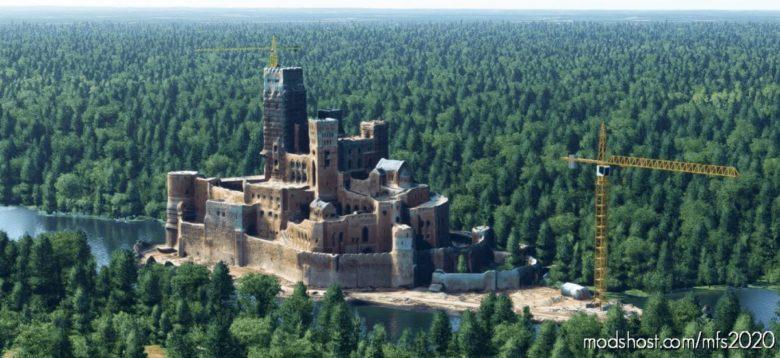 Poland Stobnica Castle for Microsoft Flight Simulator 2020