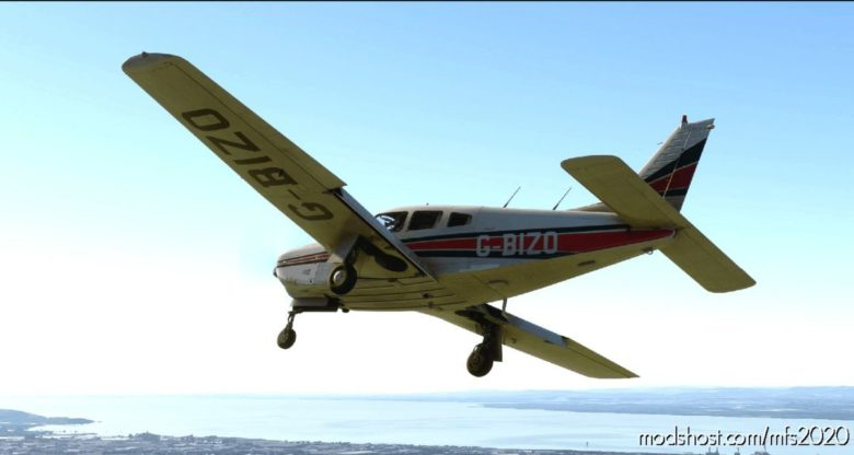 Justflight PA28R Arrow III – G-Bizo (Bristol & Wessex Aeroplane Club) for Microsoft Flight Simulator 2020