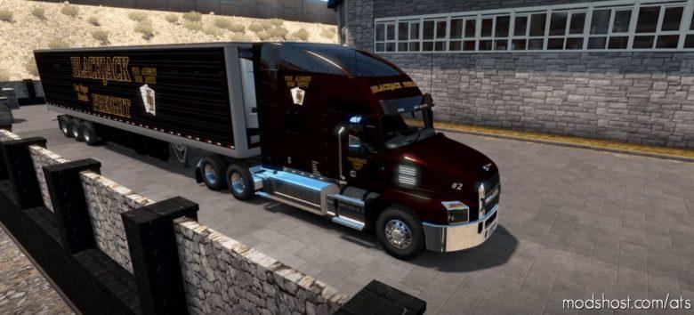 The Full Blackjack Freight CO. for American Truck Simulator