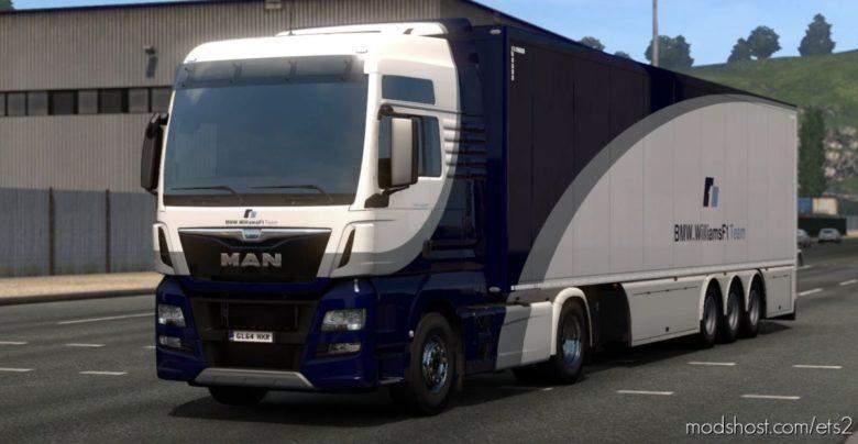 Williams F1 Replica Skins [1.40] for Euro Truck Simulator 2