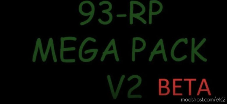 93-RP Mega Pack Work In Multiplayer 1100 Trailers V2.0 for Euro Truck Simulator 2