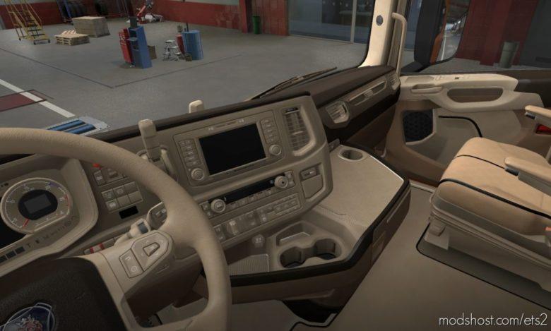 Scania S & R 2016 – Luxury Interior [1.40] for Euro Truck Simulator 2