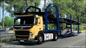 Volvo FM CAR Transporter [1.40] for Euro Truck Simulator 2