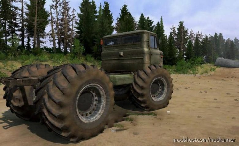 Pack Off-Road Wheels V2.0 for MudRunner