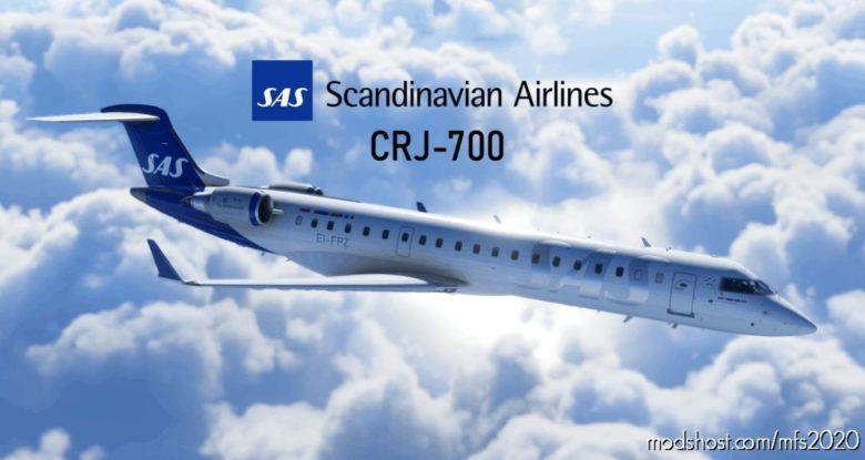 "CRJ 700 – Scandinavian Airlines (SAS) ""NEW"" Style – Ultra Quality for Microsoft Flight Simulator 2020"