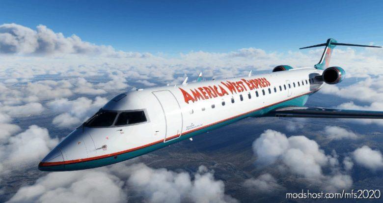 America West Express [8K] – CRJ-700 for Microsoft Flight Simulator 2020
