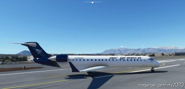 Aerosoft CRJ 550 AIR Greece Livery for Microsoft Flight Simulator 2020