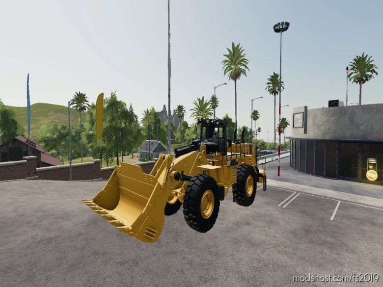 Catterpillar 992 for Farming Simulator 19