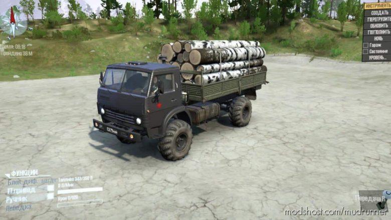 Kamaz-4325W V0.1 for MudRunner