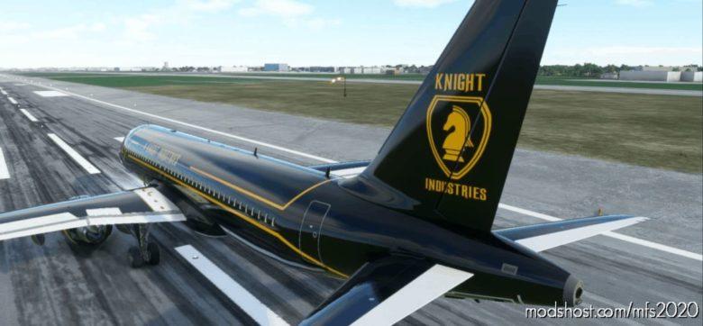 A320Neo Kitt Knight Industries By Davon Miles [Imagenative] 8K for Microsoft Flight Simulator 2020