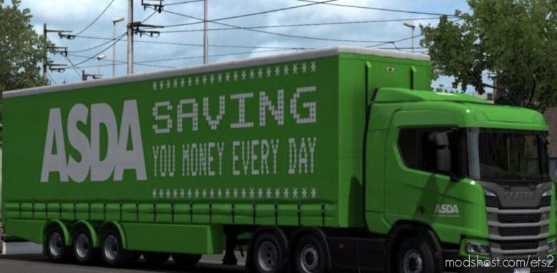 Asda Supermarket Combo for Euro Truck Simulator 2