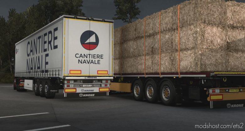 Krone Puzzle Custom For Truckersmp for Euro Truck Simulator 2