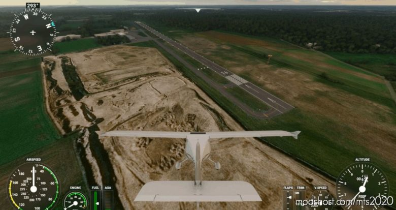 Dinslaken Schwarze Heide Edld Original Runway for Microsoft Flight Simulator 2020