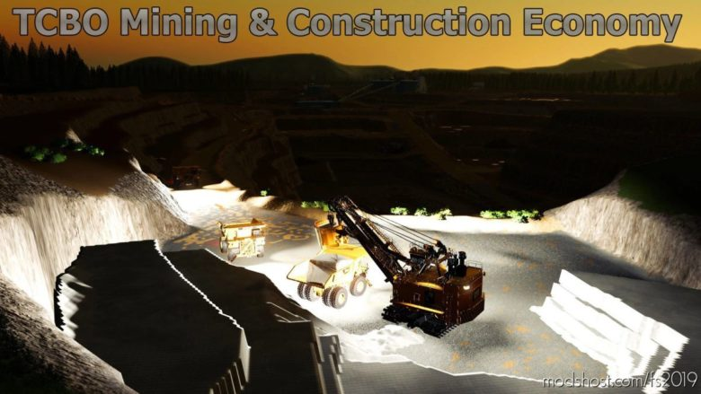 Tcbo Mining Construction Economy V0.2 for Farming Simulator 19