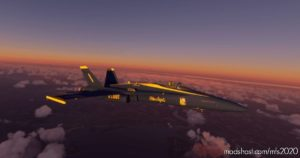 FA-18 (FSX Converted) Textures Upscaled. (Afterburners ARE Broken) V1.1 for Microsoft Flight Simulator 2020