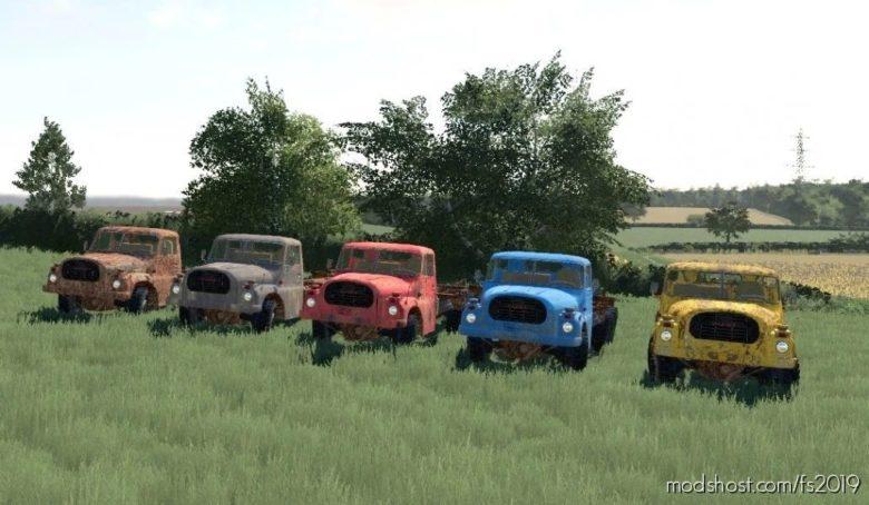 Tatra 148 Agro – Vrak + Korby for Farming Simulator 19