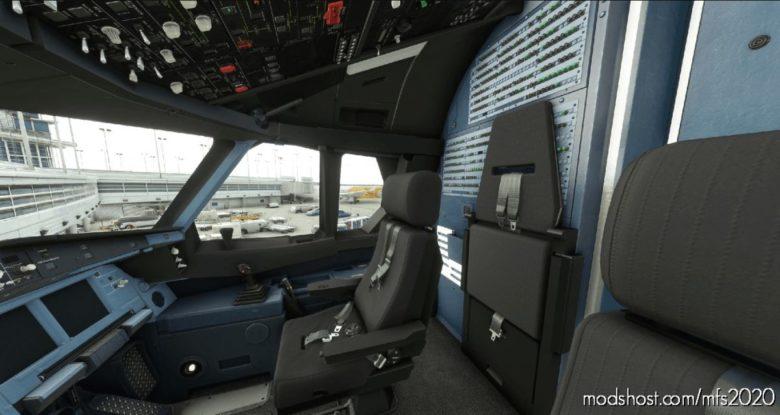 A330-300 – Carbon Black Seat Floor V2.1 for Microsoft Flight Simulator 2020