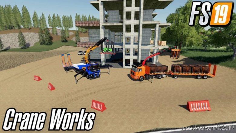 Crane Lift Base for Farming Simulator 19