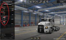 Headlight Options (LED) For NEW Light System [1.40] for American Truck Simulator