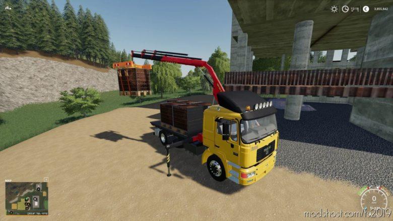 Crane Traverse for Farming Simulator 19